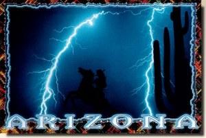 Une carte postale de Tucson, AZ (Shannon)