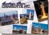 Une carte postale de Charlotte, NC (Natalie et Kyra)