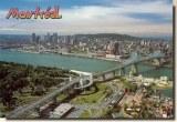 Une carte postale de Montréal (Louise)