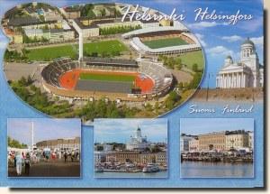Une carte postale d'Helsinki (Eeva 'Snowfriend')