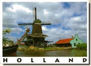 Une carte d'Hollande (Céline)