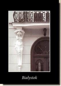 Une carte postale de Bialystok (Luaka)