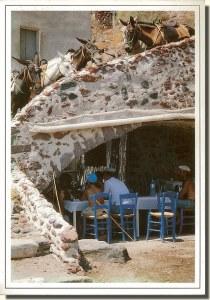 Une carte postale de Grèce