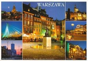 Une carte postale de Varsovie (Paula)