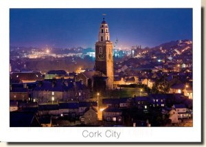 Une carte postale de Cork City (Patsy)
