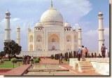 Une carte postale d'Agra (Mari)