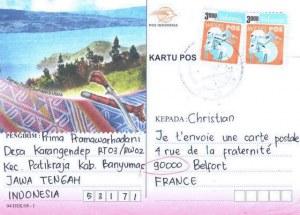 Une carte postale de Jawa Tengah (Prima)
