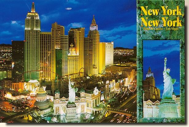 carte postale new york A postcard from New York, NY   USA (2009 12 17)