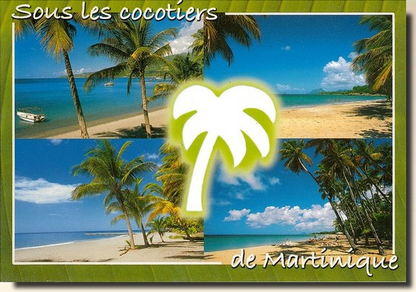 Postcards from Caribbean Sea. Postcrossing in France
