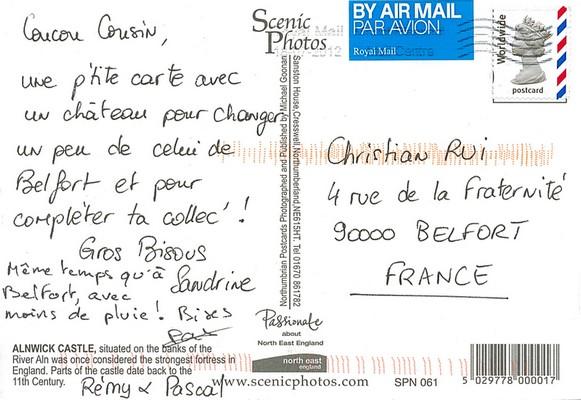 1001 postcard: