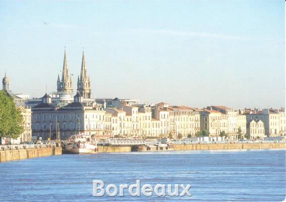 Carte Horizon Bordeaux.A Postcard From Bordeaux Maelle