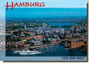 A postcard from Hamburg (Janina)