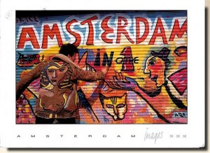 A postcard from Amsterdam (Frede et Fred)
