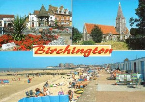 A postcard from Birchington (Frau)