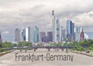 A postcard from Frankfurt (Elsa)