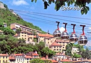 A postcard from Grenoble (Mélanie)