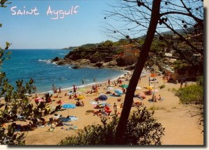 A postcard from Saint Aygulf (Semoule's family)