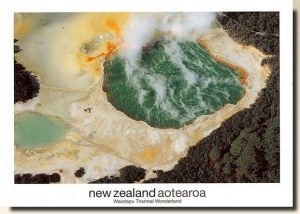 A postcard sending from Auckland (Maree)