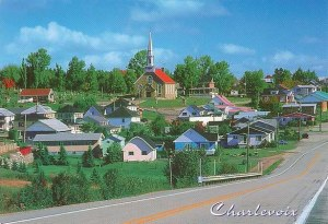 A postcard from Charlevoix (Georges and Aline)