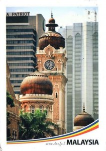 A postcard from Kuala Lumpur (Shufen)