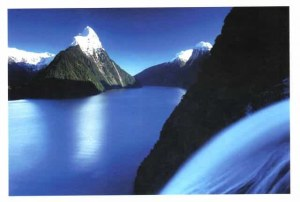 A postcard from New Zealand (Faustine, Ninon, Léonie, Céline and Laurent)