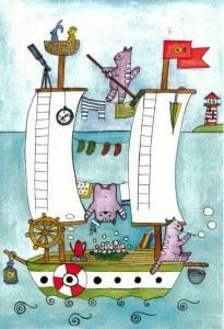 A postcard from Barysauka (Anna)