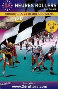 A postcard from Le Mans (La tribu roller)