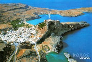 A postcard from Rhodes (Sylvain and Yvette)
