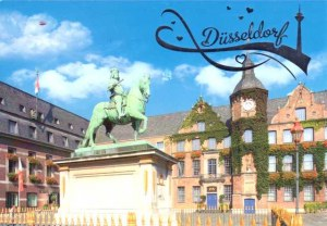 A postcard from Dusseldorf (Jasmin)