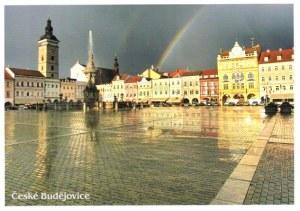 A second postcard from České Budějovice (Jana)