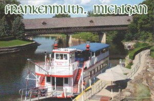 A postcard from Frankenmuth, MI (Kathryn)