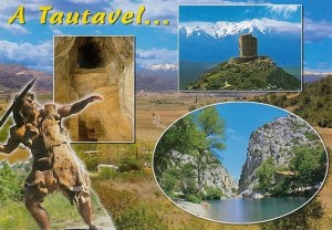 A postcard from Tautavel (Corinne and Manu)