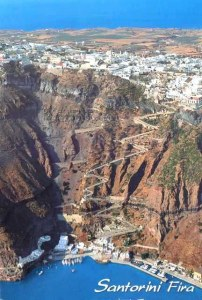A postpostcard from Santorini (Anis)