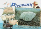A postcard from Plymouth Rock , MA (Rob)