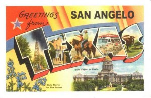 A postcard from San Angelo, TX (Klara)