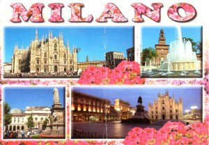 A postcard from Milan (Les 2 bombasses)