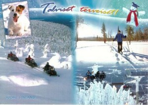 A postcard from Pihtipudas (Liisa)