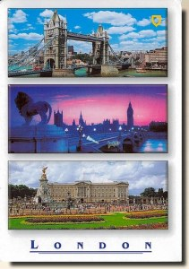 A postcard from London (Michal)