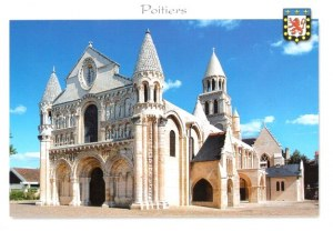 A postcard from Poitiers (Marie-Angèle)