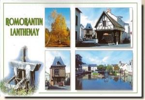 A postcard from Romorantin Lanthenay (Sandrine)