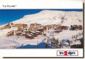 A postcard from Les Deux Alpes (Fabrice Lalloz)