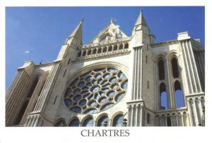 A postcard from Chartres (Anonyme)