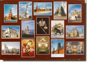 A set of postcards from Moscow (Elvira 2/5)