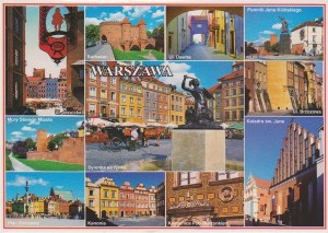 A postcard from Warsaw (Sandra)