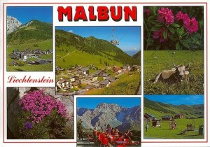 A postcard from Malbun (Lisa and friends)