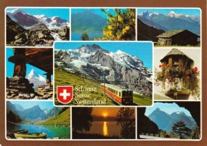 A postcard from Zürich (Märchenfee)