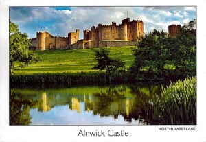 A postcard from Alnwick (Sandrine, Rémi and Pascal)