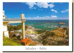 A postcard from Salvador de Bahia (Ana Paula)