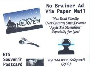 A postcard from Homer, GA (George)