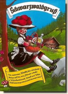 A postcard from Freiburg im Breisgau (Michael Jackson)